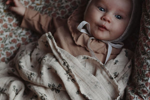 Muslin Swaddle in Bluebell