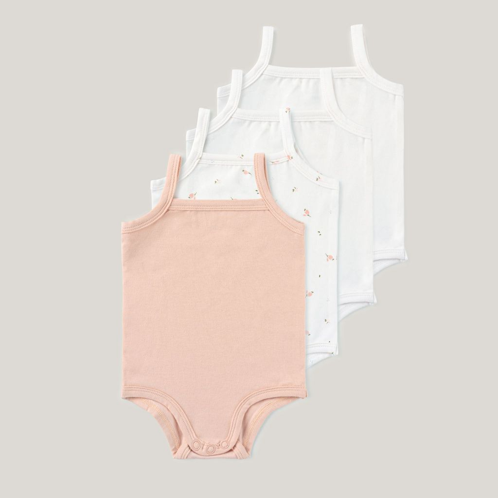 Baby Girl Sleeveless Undershirts