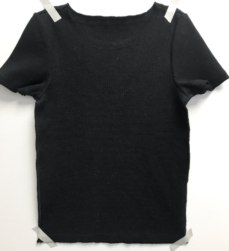 Ribbed Silky T