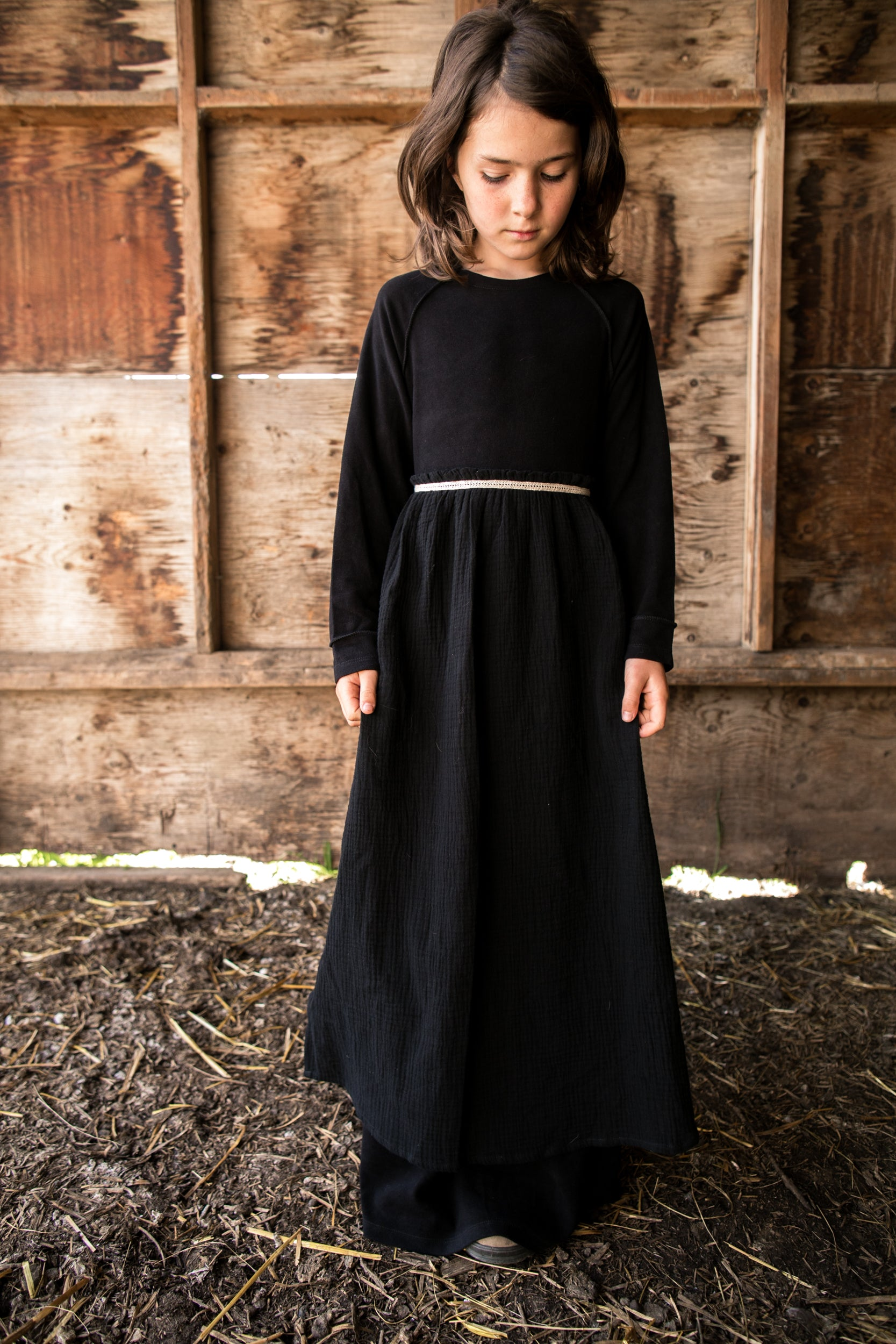 Fleece Pinafore Pelisse
