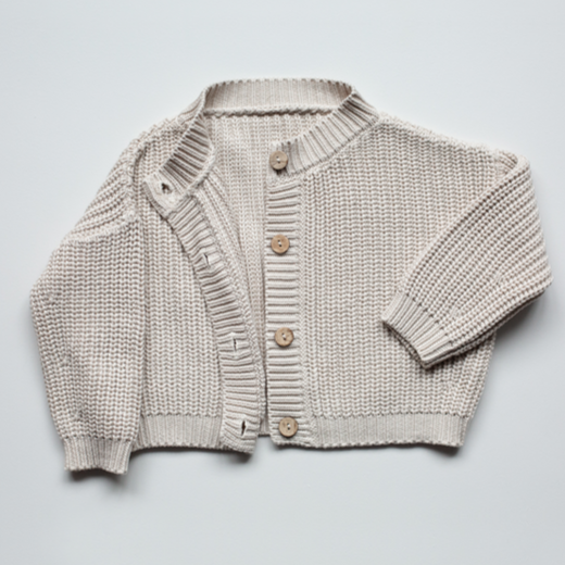 The Chunky Baby Cardigan