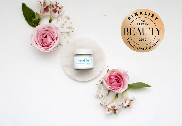Best in Beauty Awards - Vote for Us! Our natural deodorants are nominated!