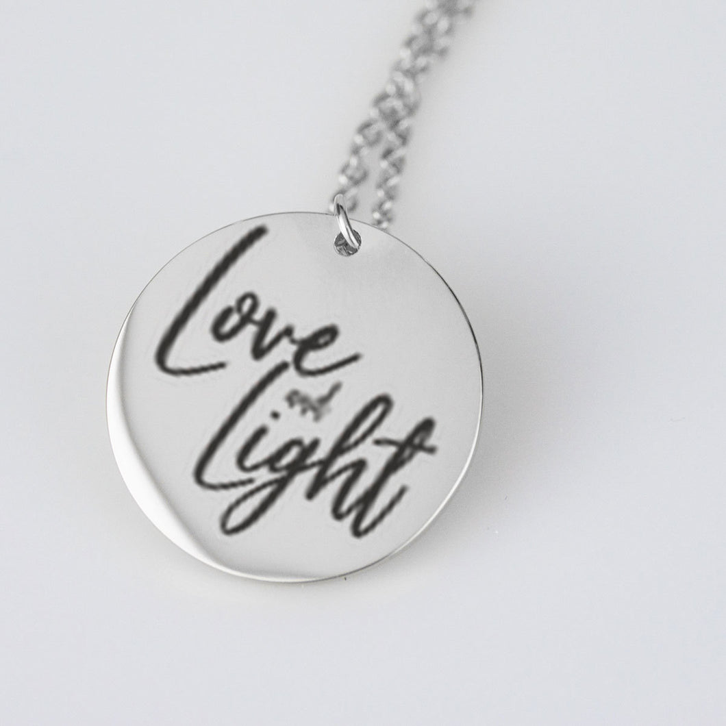 Love and Light necklace