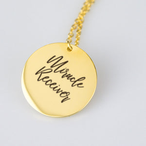 Miracle Receiver Necklace