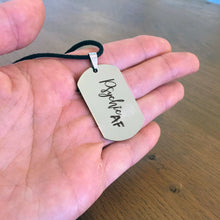 Psychic AF Dog Tag Necklace