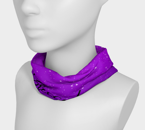 Bless AF Headband/ Scarf- Purple