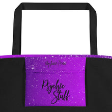 Totes Psychic Full print Tote Bag- Purple
