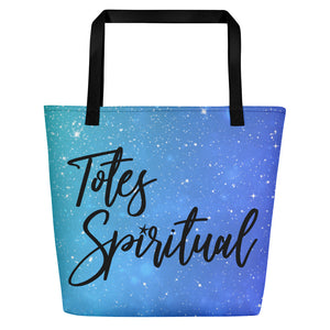 Totes Spiritual Full Print Bag - Blue