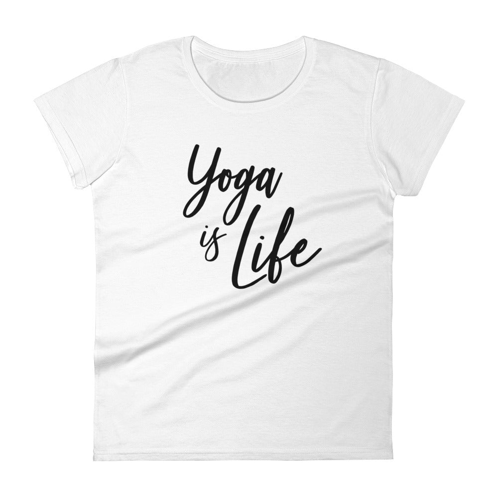 Yoga is Life Women's short sleeve t-shirt