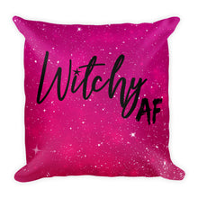 Witchy AF Square Pillow
