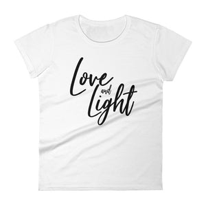 Love & Light  Women's short sleeve t-shirt