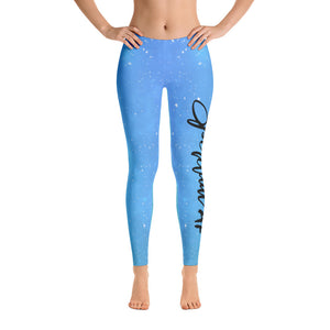 Spiritual AF Galaxy Leggings - Blue