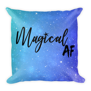 Magical AF Square Pillow