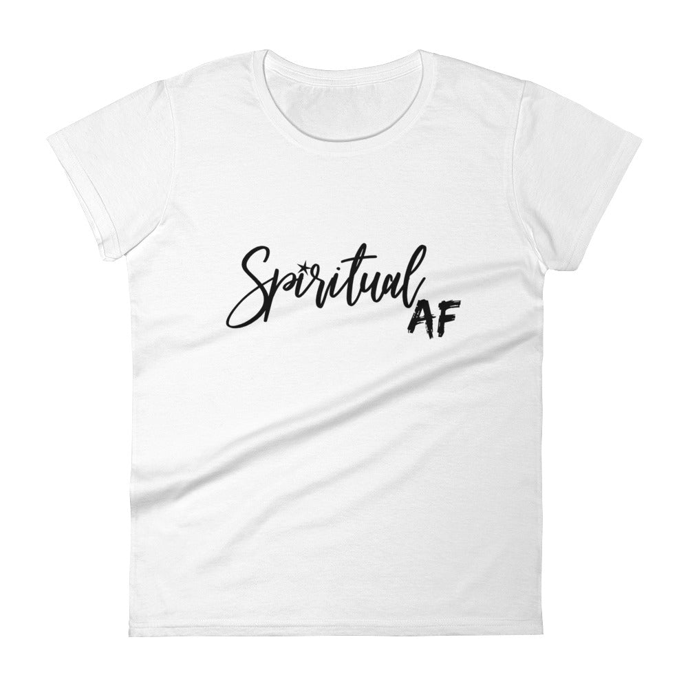 Spiritual AF - Women's short sleeve t-shirt