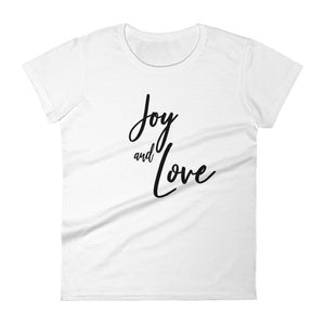 Joy & Love Women's short sleeve t-shirt