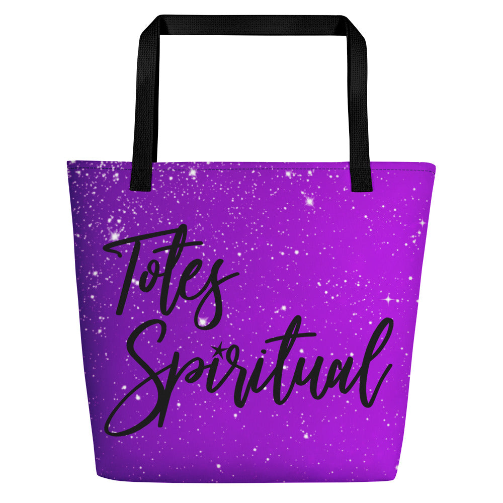 Totes Spiritual Full Print Bag - Purple