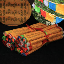 Tibetan Buddhist Prayer Flags 20 Flags Tibet Style Decorative Flag A Total of 5 meters clear Pattern Sutra streamer