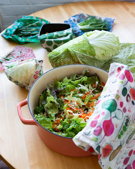 Recipe Share #3: Super-Crunch Salad with Soy Sesame Ginger Dressing