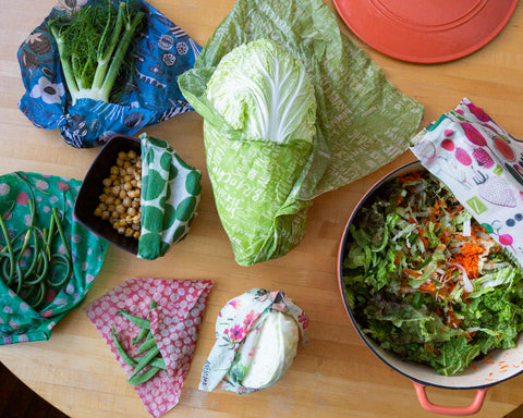 open z wraps reveal bountiful produce and a crunchy salad