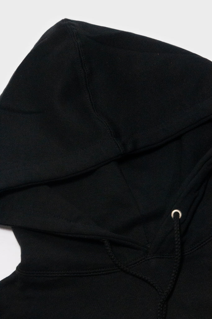 HD Stacked Hoodie (Black/White)