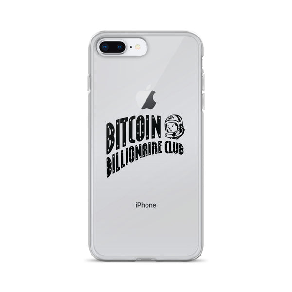 Bitcoin Billionaire Club iPhone Case (Black Series)
