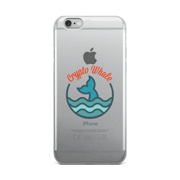 Crypto Whale iPhone Case