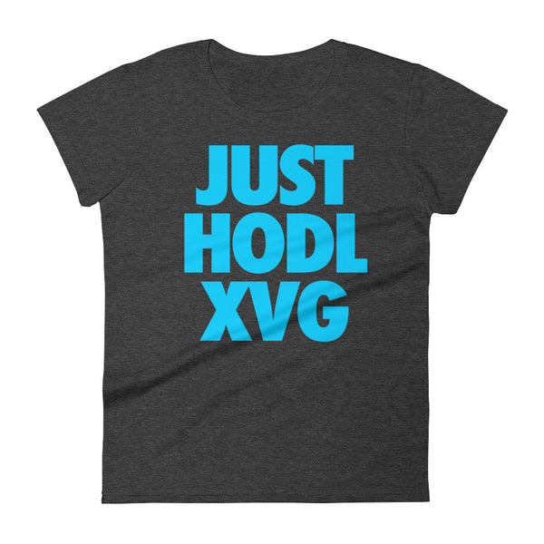 JUST HODL XVG Womens Tee