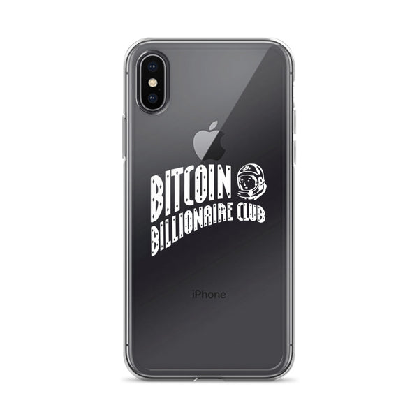 Bitcoin Billionaire Club iPhone Case (White Series)