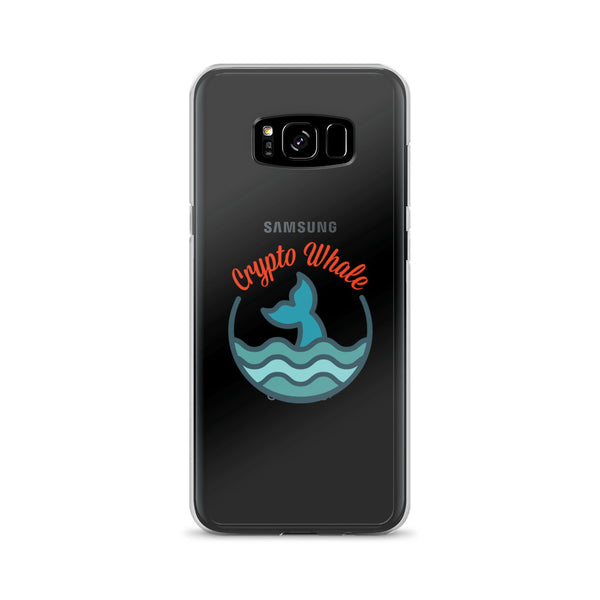 Crypto Whale Samsung Case