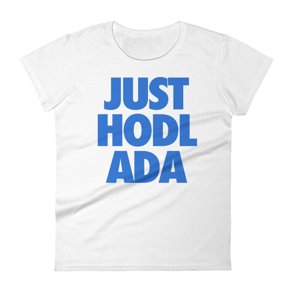 JUST HODL ADA Womens Tee