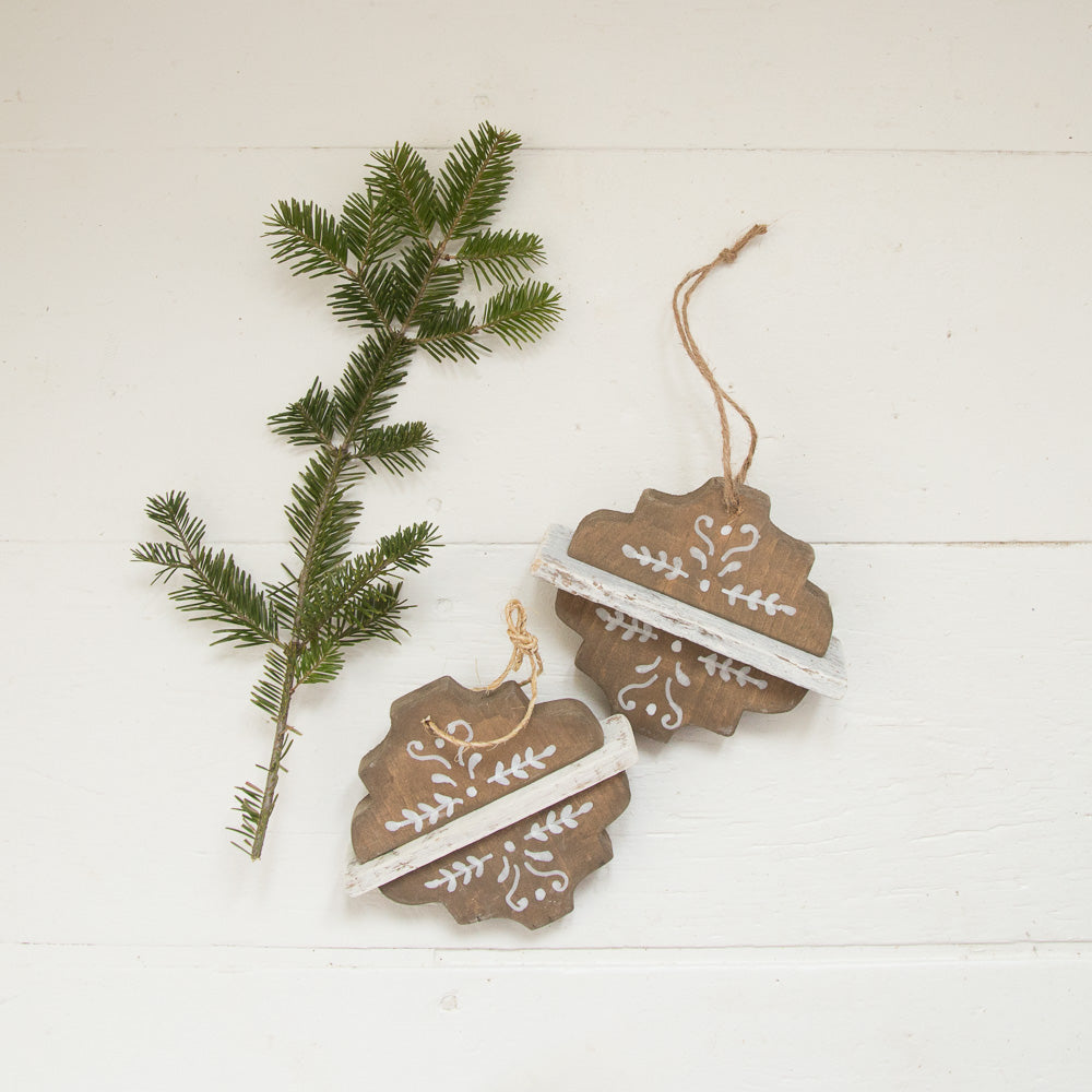 Large Wooden Ornaments
