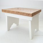 Milk Stool (White)
