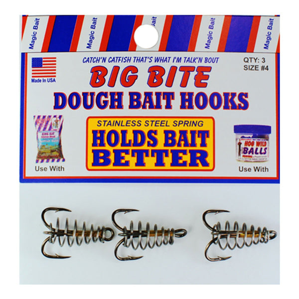 Big BIte Dough Bait Hooks