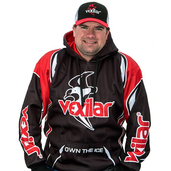 "Vexilar ""Own the Ice"" Pro Hoodie"