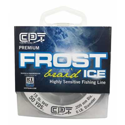Clam CPT Frost Braid 50 Yd