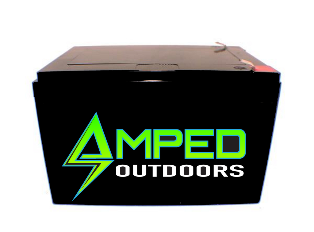 Amped Outdoors 18AH Lithium Battery (LIFEPO4)
