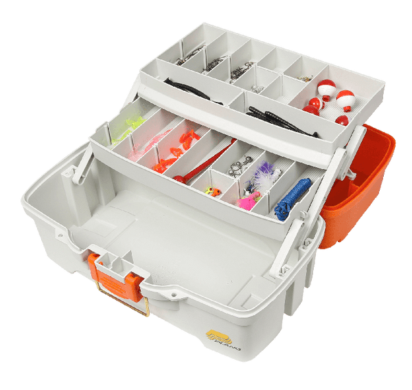 Plano Ready to Fish 2-Tray Tackle Box