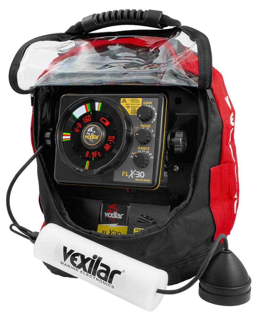 Vexilar FLX-30 Ultra Pack Lithium W/ BB Transducer