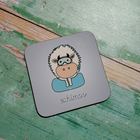 Eskimoo Illustrated Coaster - fay-dixon-design