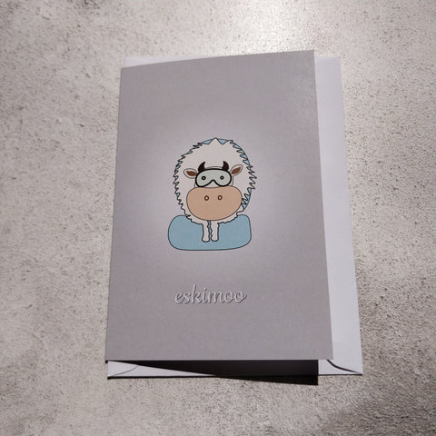 Eskimoo Greeting Card