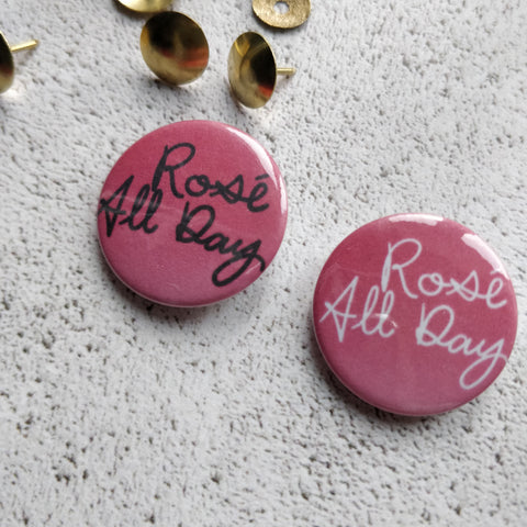 Rose All Day Badge