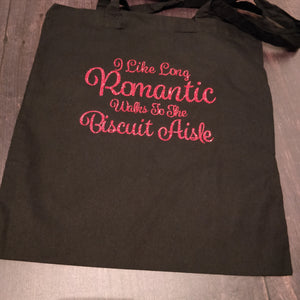 I like Long Romantic walks to the Biscuit Aisle Tote Bag - fay-dixon-design