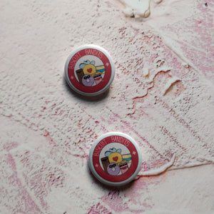 Biscuit Bandits Illustrated Badge/Mirror