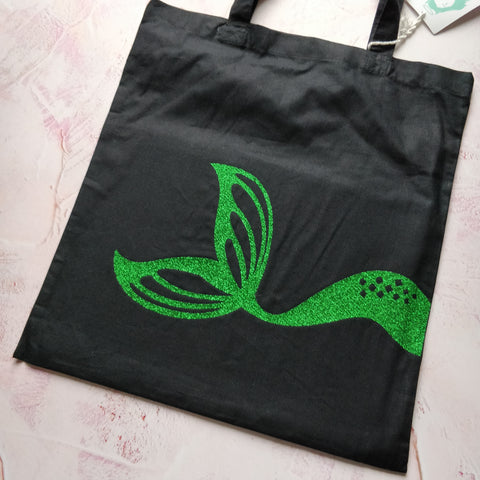 Mermaid Tail Tote Bag