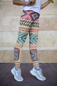 Boho Printed leggings, Capris and Shorts