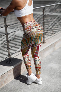 Tribal Printed leggings, Capris and Shorts