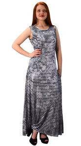Lightweight Scoop Neck Summer Maxi Dress