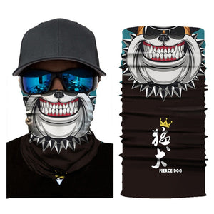 Halloween Wide Mouth FaceMask