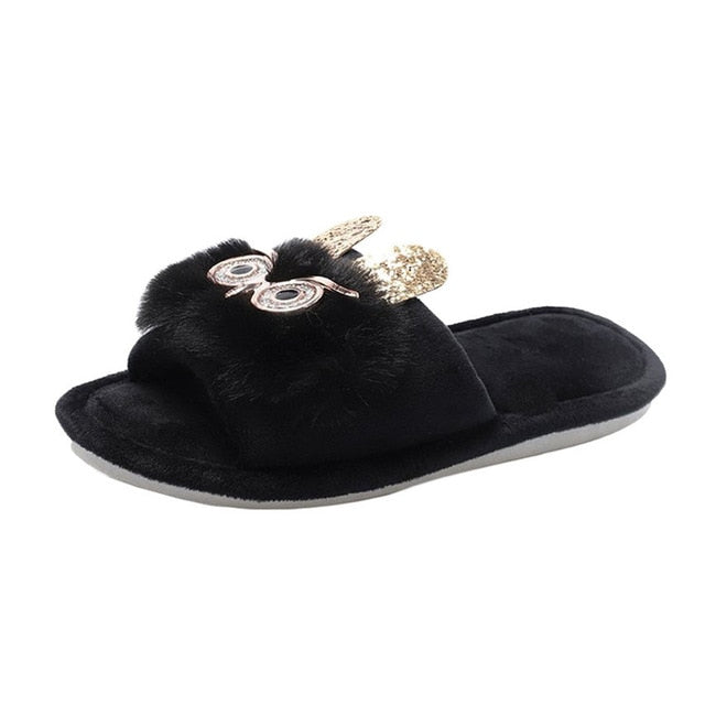 Women Indoor Cartoon Slippers