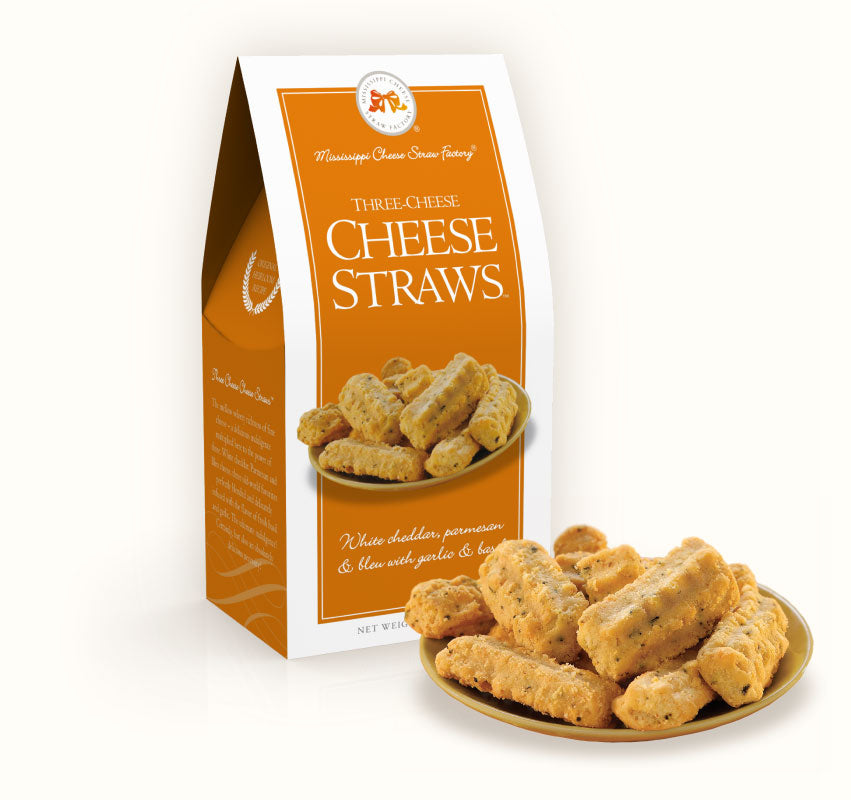 Three Cheese Straws